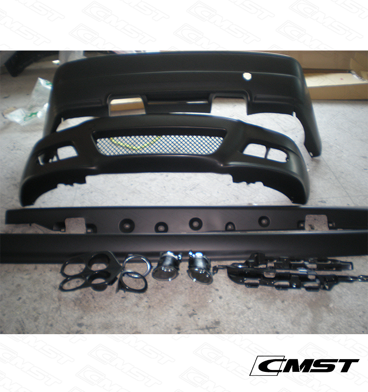 PP MATERIAL BODY KIT FOR BMW E46 BODY KIT WITHIN FRONT BUMPER REAR BUMPER