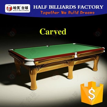 Half Billiards Professional Pool Table Price With Different Size - Pool table sizes and prices