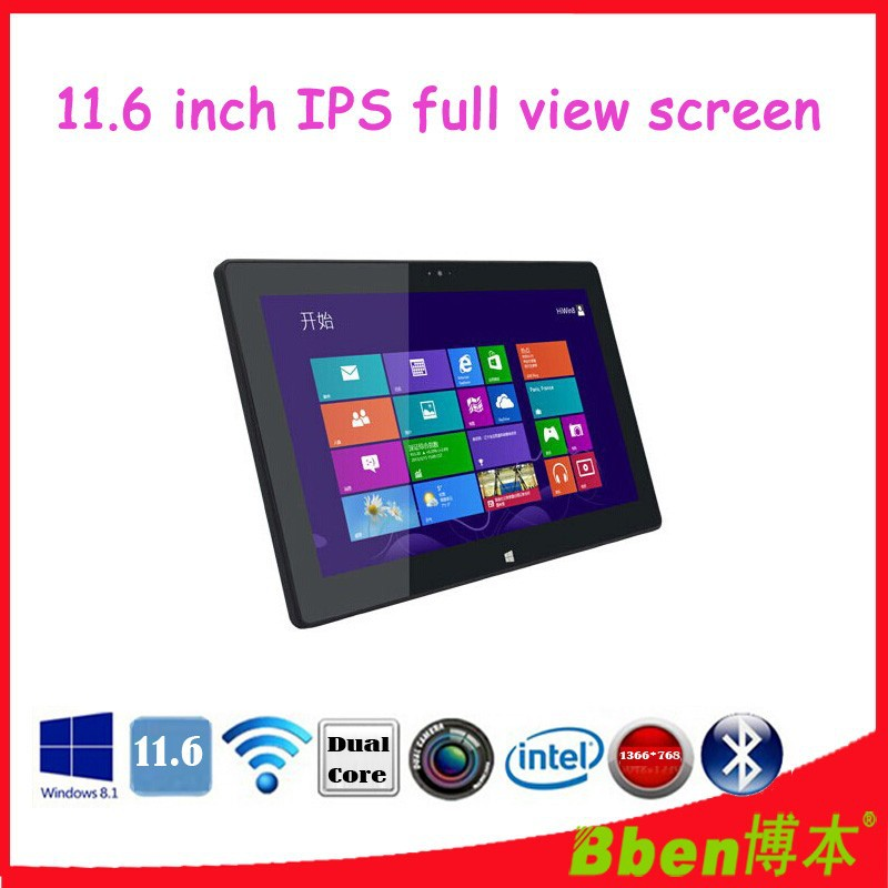 11.6 Inch 8GB DDR 256 SSD tablet windows XP/UBUNTU tablet pc Intel I7 2.0 Ghz dual core tablet pc support 3G phone tablet