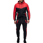 Wholesale hot selling custom logo fashion sports suit tracksuit hoodie sweatshirt suit sport jacket