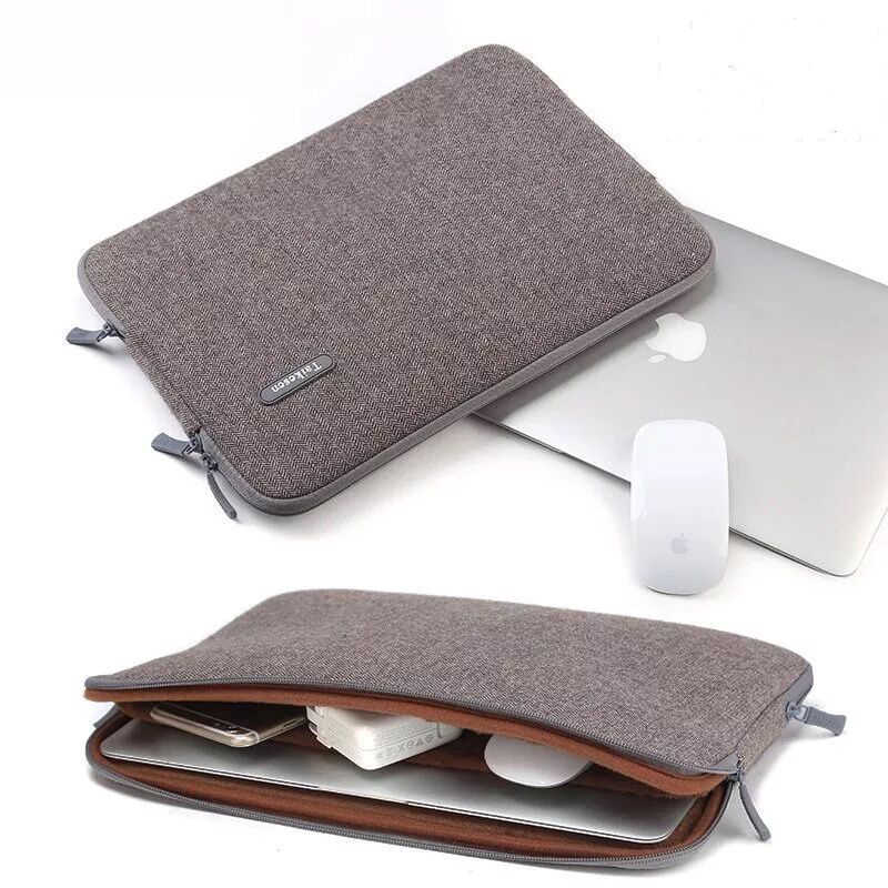 Factory direct sale canvas laptop sleeve bag with good quality