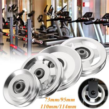 Plastic Material spare parts pulley for cable, taiwan pulley for gym equipment