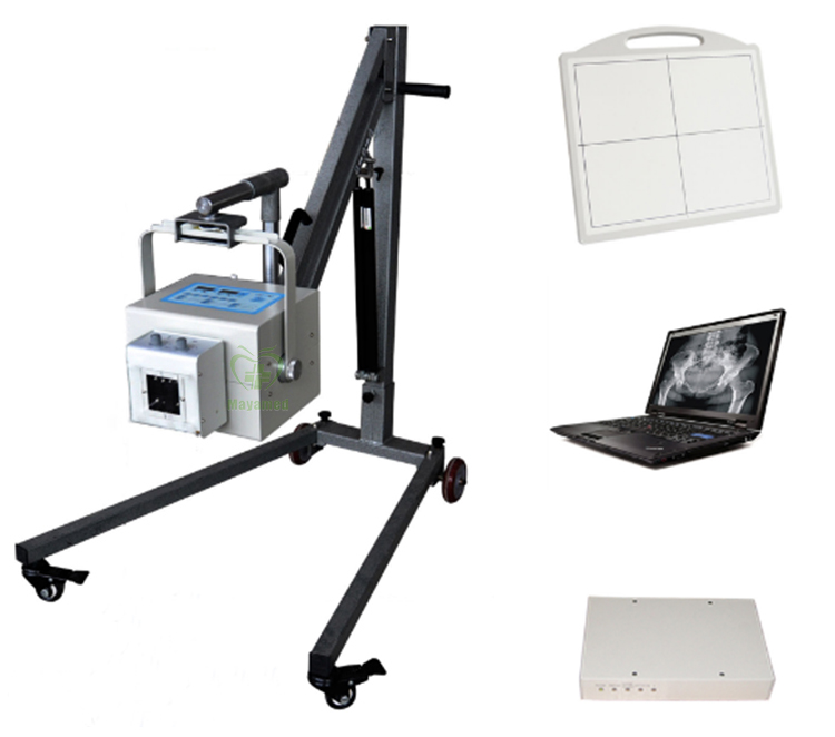 High Frequency MY-D019A Hospital 4KW Digital Portable X-ray System Medical X Ray Machine Equipment Price