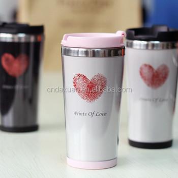 350ml Wholesale Diy Custom Plastic Coffee Mug/ Promotion Coffee Mug ...