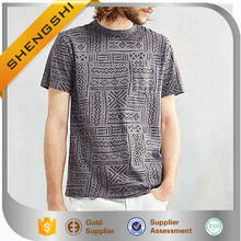 wholesale stone washed t-shirts mens double pocket shirt om printed t shirts