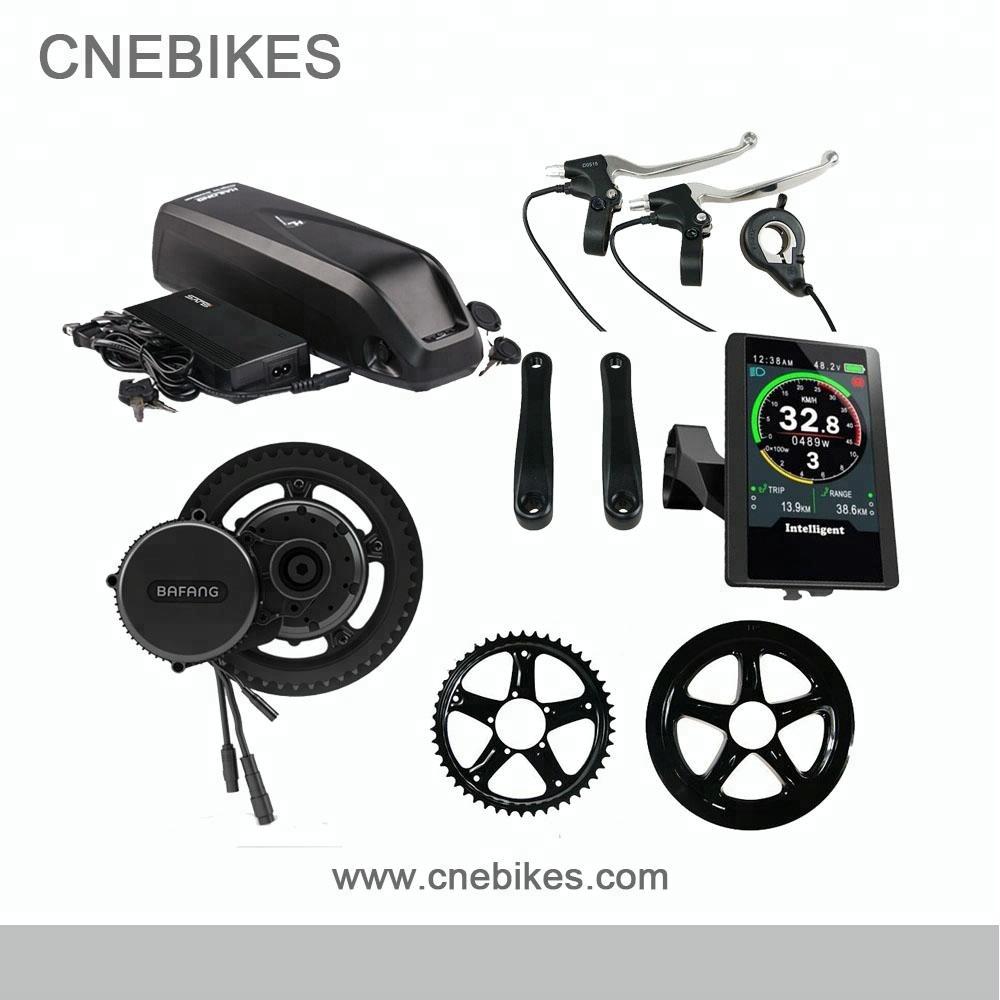 Screen update! 8fun motor 36v 250w bafang bbs01 8fun central mid drive motor e bike kit