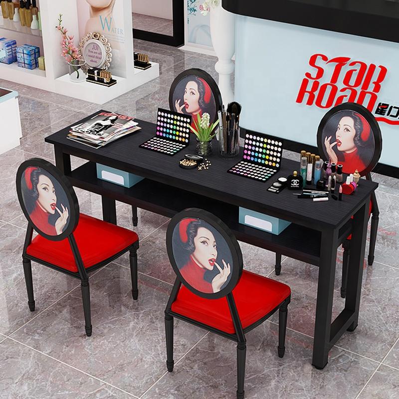 Wholesale Price Salon Furniture nail manicure salon table set