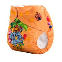 Ananbaby New Position Print Reusable Ecological Cloth Baby Diapers Wholesale Washable Diapers