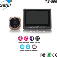 "Newest 4.3"" Screen 1300K Support 32GB Picture Video Record Infrared Night Version Digital Peephole Door Viewer"
