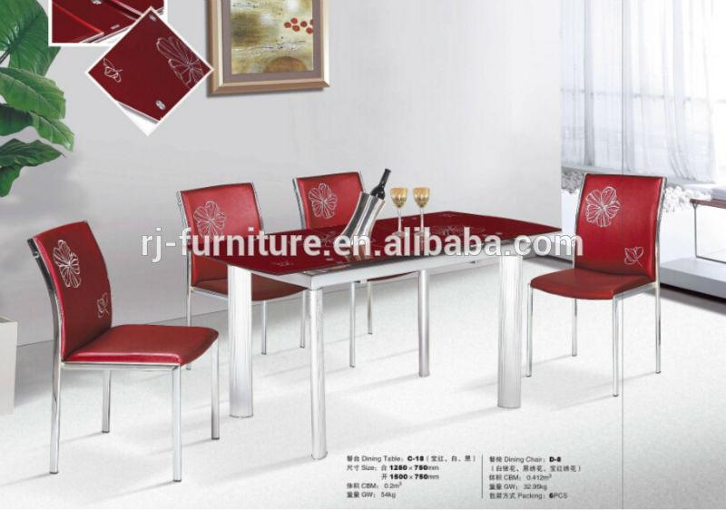 Salle A Manger Ensemble Table En Metal Chaise Electrolytique