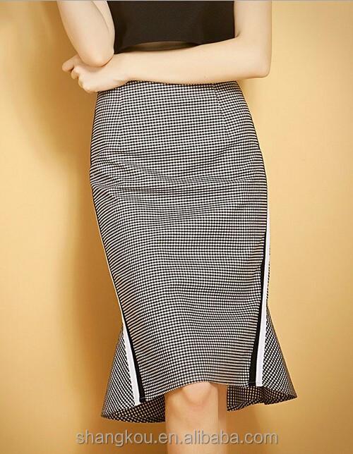 2016 Summer Season Formal Skirts Designs Ladies Office Wear Skirts ...