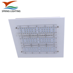 UL cUL DLC FCC listed 50W 100W 150W 200W High bay led canopy light with 5 years warranty
