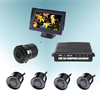 12v video parking sensor monitor with voice speaker and camera