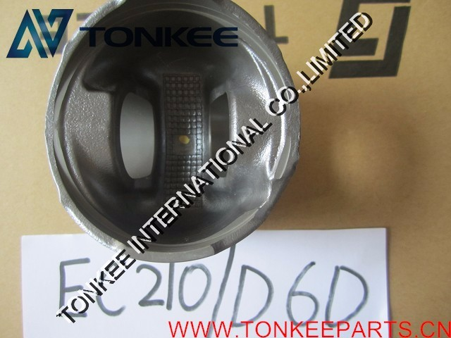 21291110 D6E piston EC210B prime engine piston liner kit
