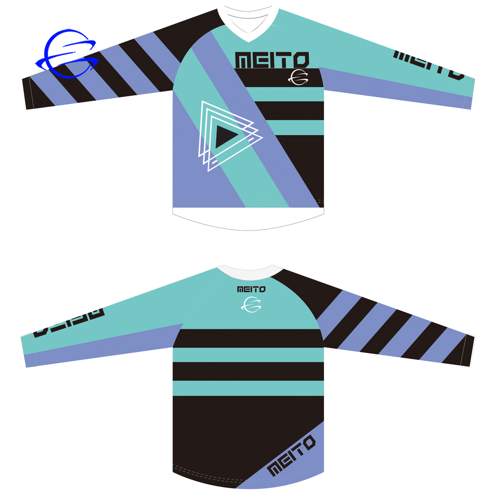 Quick Dry Bicycle Jerseys Motocross MX Bike Enduro MTB T-shirt Sublimation Downhill Long Sleeve Cycling Wear