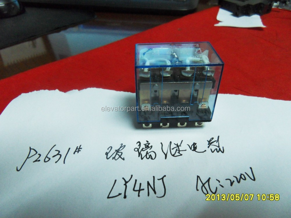 Low Price Relay /Small Relay LY4NJ AC220V Elevator Relay Limit Switch Series