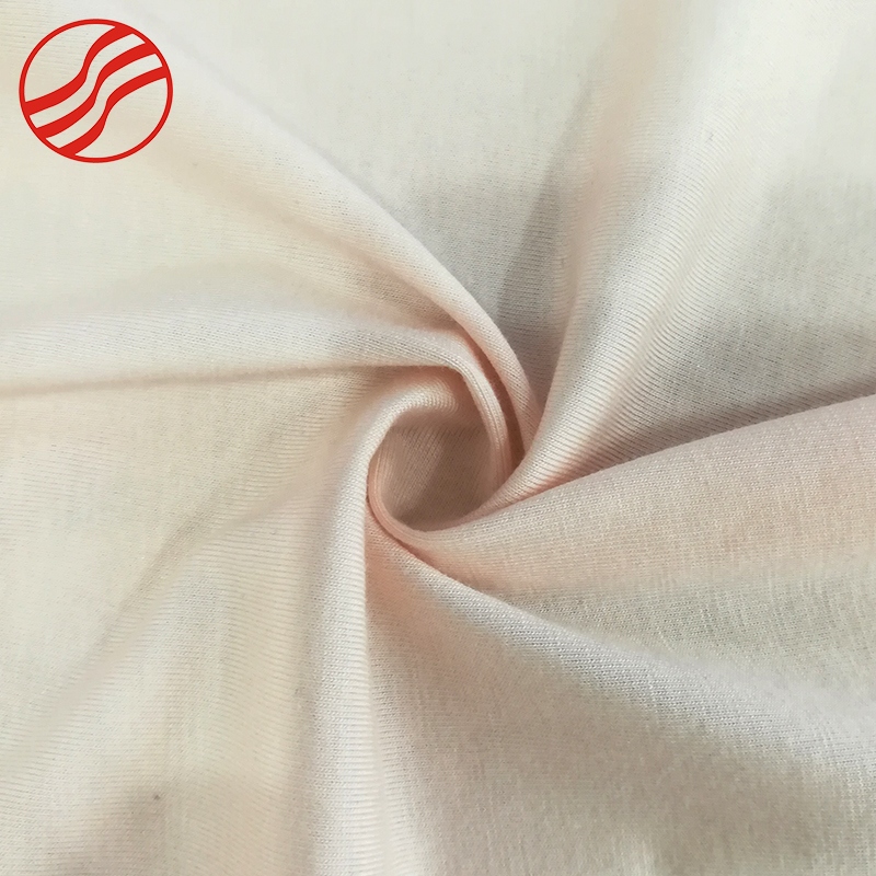 High quality wholesale pure color cotton elastane fabric for garment