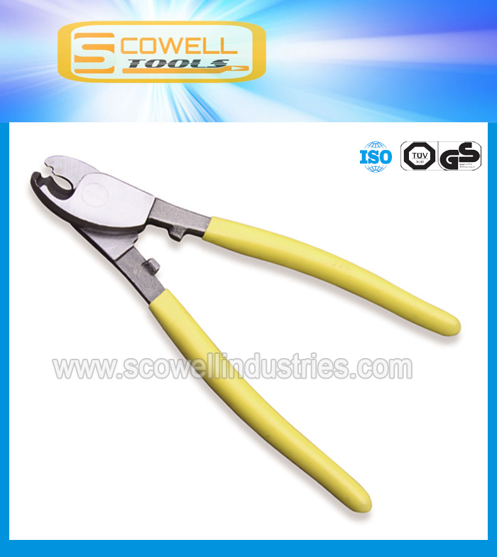 Manual cable cutting nippers,hand cutting pliers,concrete pliers