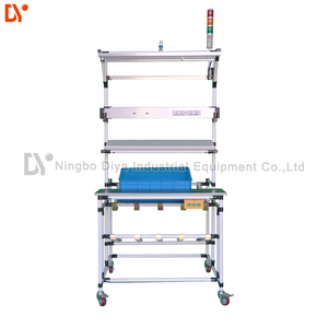DY101 Industrial mount table by lean tube for Workshop Use roller track ship material lean tube workbench