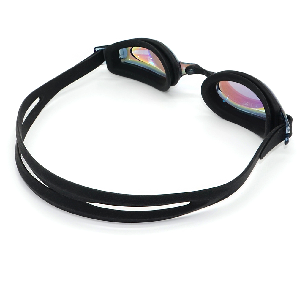 colored adjustable swimming ski flat elastic goggle strap