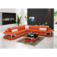 european modern fashionable leather sofa furniture