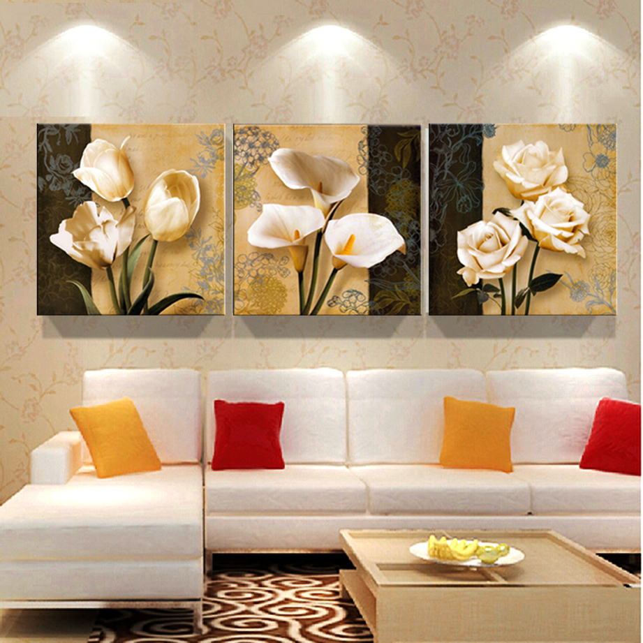 Uncategorized Cheap Paintings For Living Room cheap brown orchid modern art deco mural painting the living room room