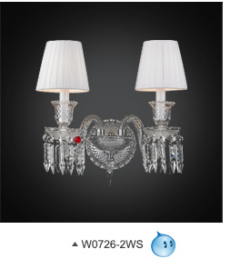 Crystal Wall Lamp Sconce