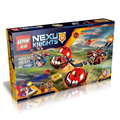 334 PCS NEXU KNIGHTS Beast Master s Chaos Chariot LEPIN Building Blocks Toys for Kids Compatible
