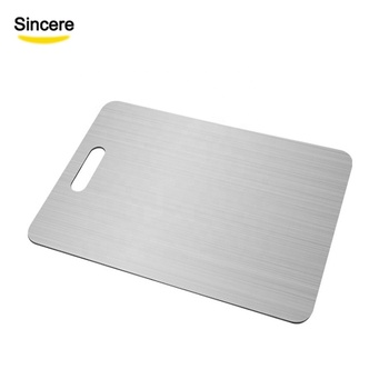 Eco-Friendly Stainless Steel Cutting Board Chopping Block Kitchen Accessories