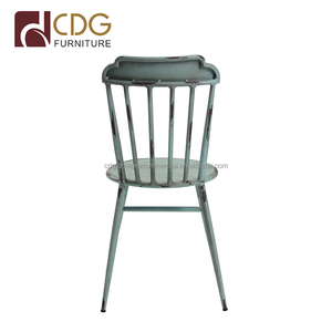 Outdoor waterproof durable restaurant stacking easy cleaning dinner accent chairs furniture