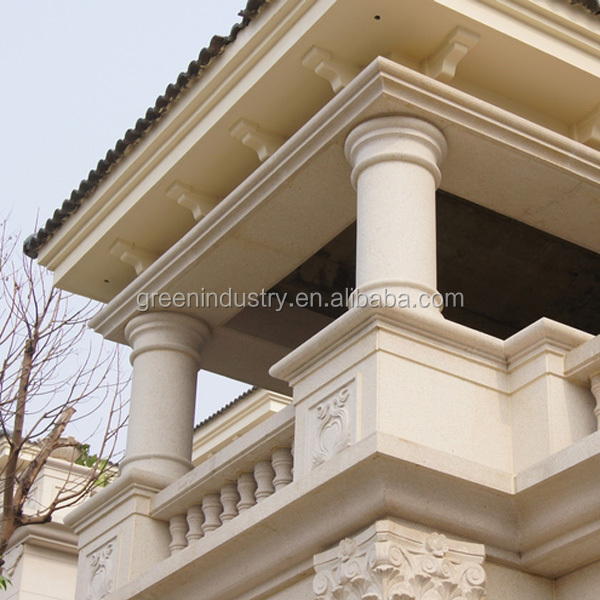 polystyrene cornice moulding Decorative Corbels key stones with polymer cement coating
