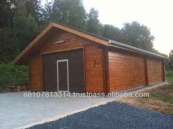 Log Cabin Garage Or Carport  Client Driven Design
