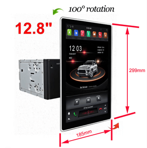 Klyde Android 8.1 Car Multimedia System Radio Tesla 12.8 inch IPS Screen