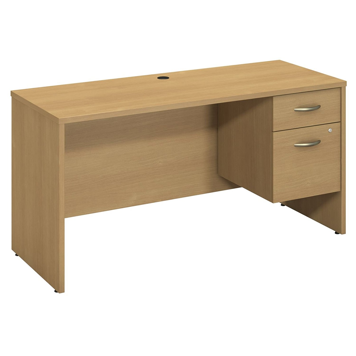 Attirant Get Quotations · Bush Business Furniture Series C 60W X 24D Credenza Shell  With 3/4 Pedestal In