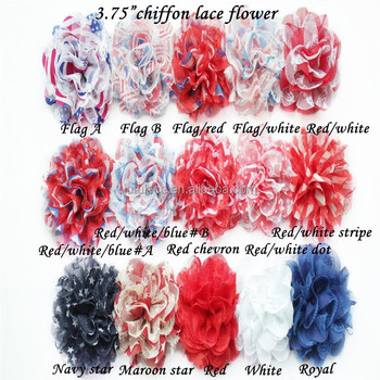 4thjuly independence day american holiday flag chiffon flower red 4thjuly independence day american holiday flag chiffon flower red white blue chiffon shabby flower mightylinksfo