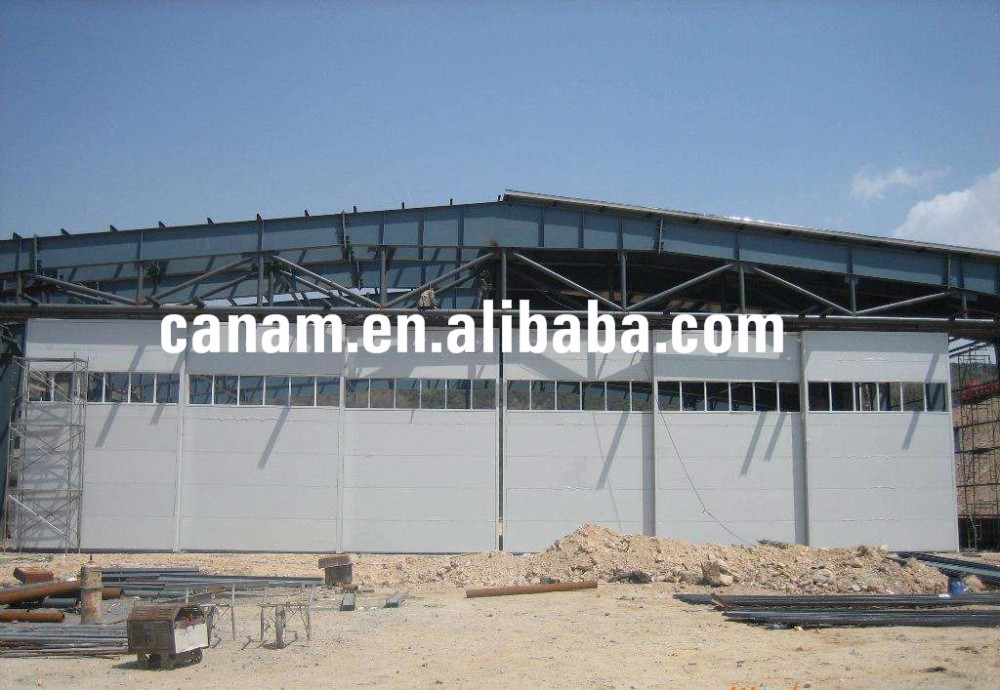 hangar side revolving sliding door