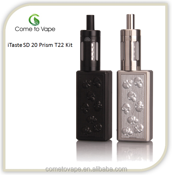 Innokin iTaste SD 20 Prism T22 kit 2016 BRAND NEW PRODUCT only in COME TO VAPE