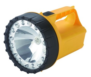 POPULAR RECHARGEABLE SOLAR HALOGEN RECHARGEABLE 6V TORCH