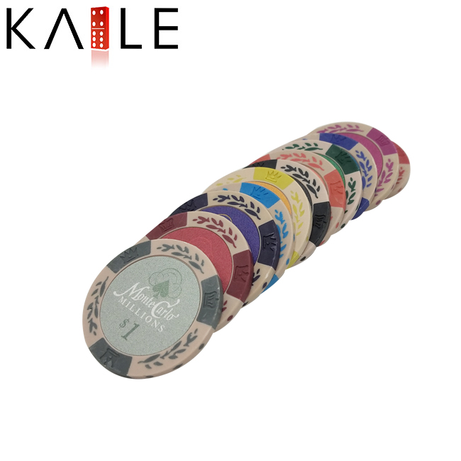 Unieke Stickers Plastic Poker Chips