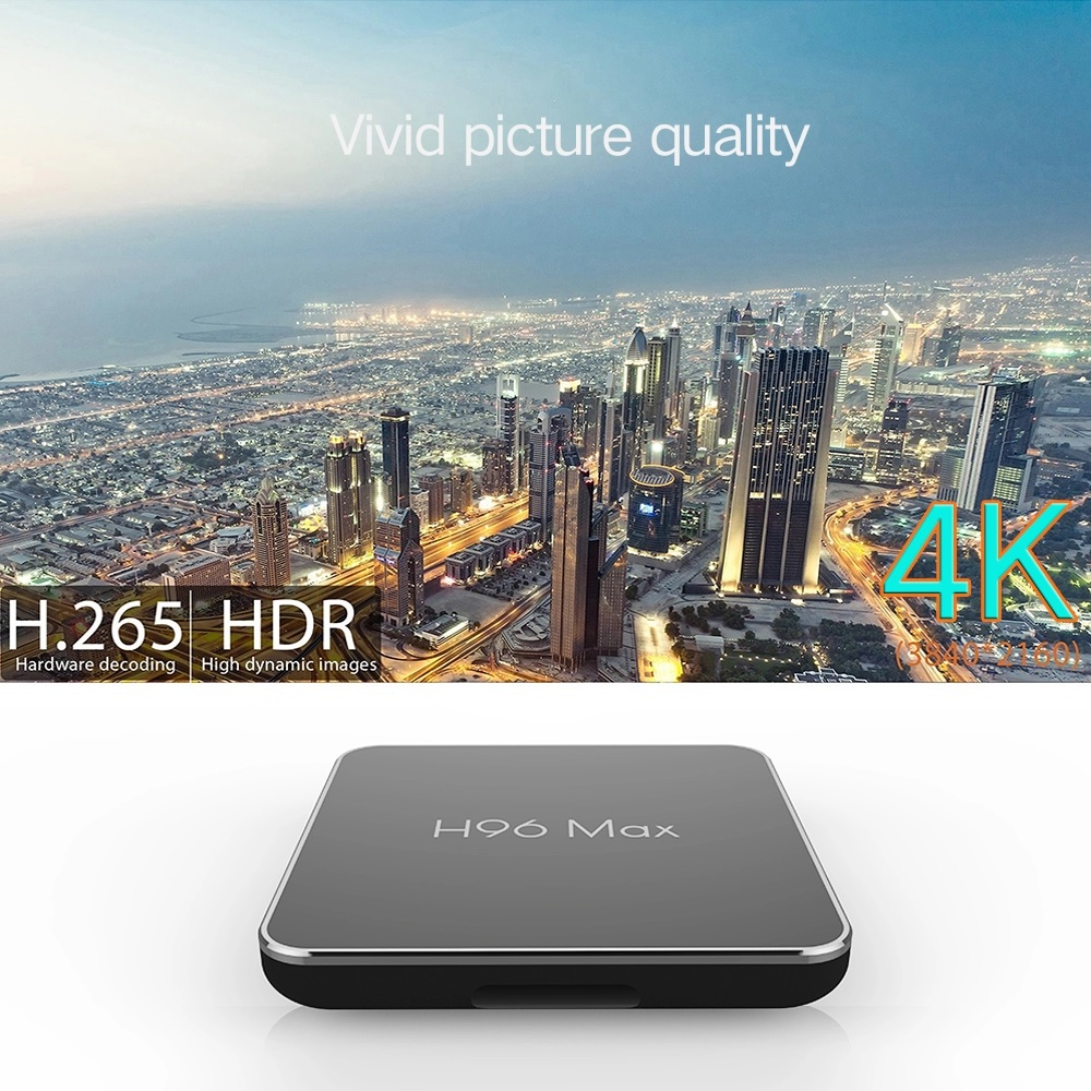 2018 New Arrival Amlogic S905x2 Firmware Update Android 8 1 4g+64g 4k Smart  Tv Box H96 Max X2 - Buy 4k Smart Tv Box H96 Max X2,Android 8 1 4g+64g 4k