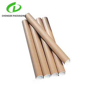 Plain Best Kraft Paper packaging Tall Poster Container Cardboard Tubes with custom