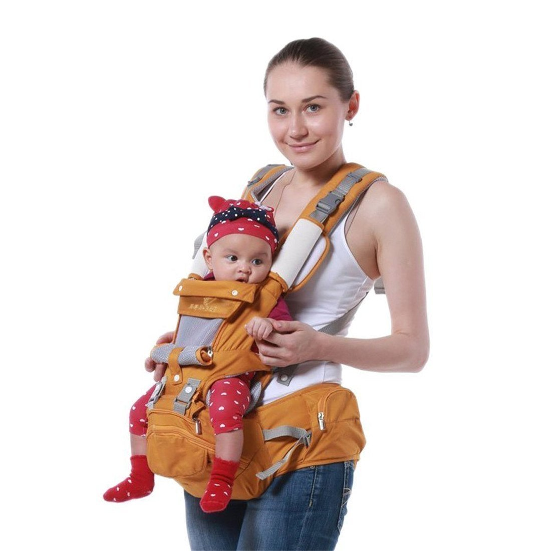 1363fa04a50 Get Quotations · Baby Carrier Multifunctional Backpacks   Carriers Baby  Bibs
