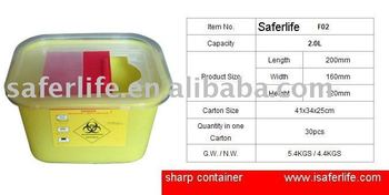 sharp disposal. recycling containers medical disposal bin sharp safe v