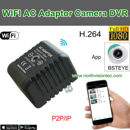 New arrival USB AC charger type 1080p wireless wifi hidden camera with good quality