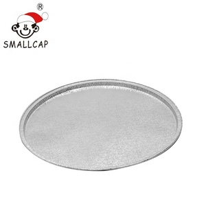 pizza 14.5 inch Eco-friendly 368dia x 15mm customized disposable aluminium foil pizza pans PZ368 yysmallcap