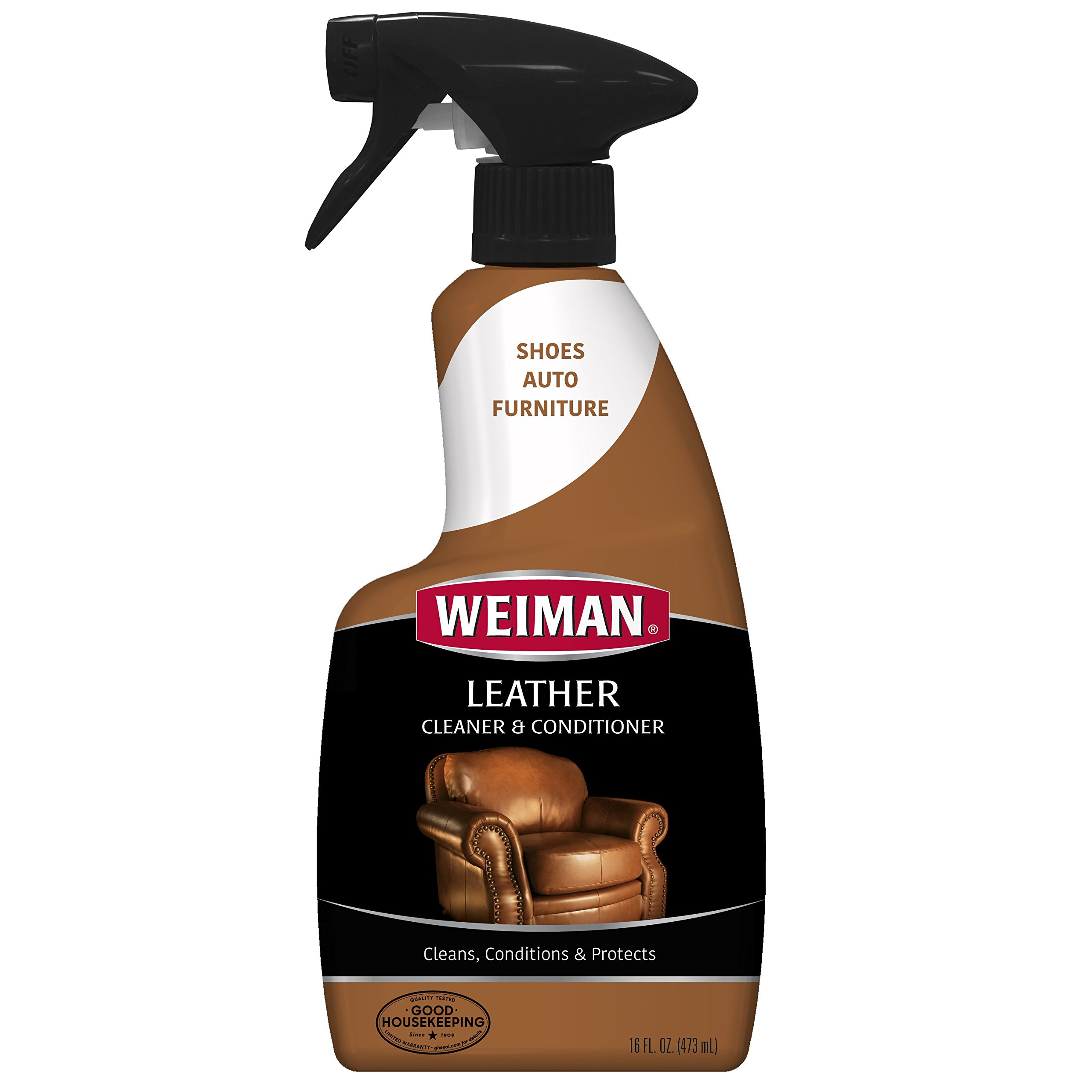 Get Quotations Weiman Leather Cleaner Conditioner Gentle Formula Cleans Conditions And Res Surfaces