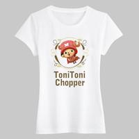 short sleeve white cotton polyester rayon print t shirt women