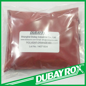 Metal Complex Solvent Dyes Solvent Orange 62 for Leather Plastic Coating