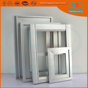 how to make aluminum door frame