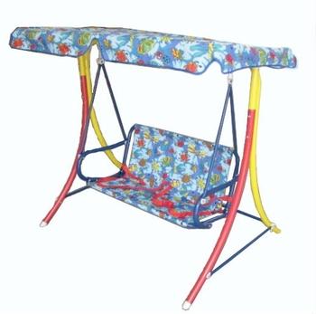 Children Kids Hanging Swing Chair Metal Garden Swings Indoor Outdoor